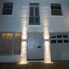 W LED Exterior Wall Sconces Light Fixture Waterproof UpDown Lamp - Up and down exterior wall lights