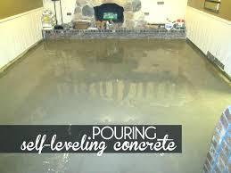 self leveling concrete over tile floor leveler pouring self leveling concrete floor leveler before tile floor