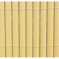 White Festnight <b>Double</b>-<b>Sided Garden Fence PVC</b> Screening Fence ...
