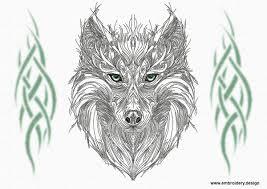 tribal wolf drawings in pencil. Simple Tribal For Tribal Wolf Drawings In Pencil