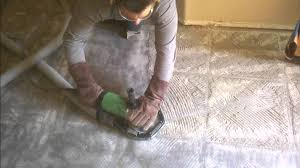 what is the easiest way to remove kitchen tile flooring clean tile grout thinset removal demolition