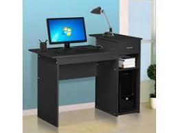 Home office computer desk Stylish Pc Desk Computer Table Home Office Furniture Workstation Neweggcom Office Computer Gaming Desks Neweggcom