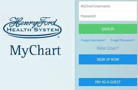 Www Henryford Com Mychart Henry Ford Mychart