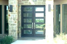 black front door with glass full glass entry doors magnificent single entry doors with glass with