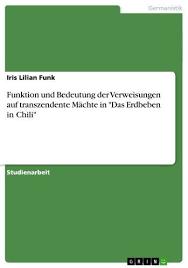 Funktion und Bedeutung der Verweisungen auf transzendente Mächte ...