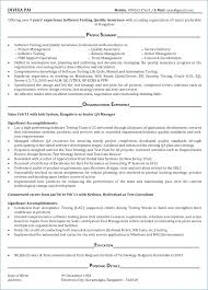 Qa Manual Tester Resume Beautiful Qtp Sample Resume My Blog