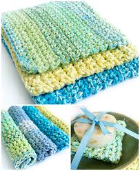 Easy Crochet Dishcloth Patterns Delectable Easy Thick Crochet Wash Dishcloths Dabbles Babbles