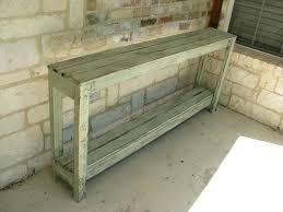 Diy Sofa Table Plans White Rustic X Furniture Set Diy Pallet Sofa