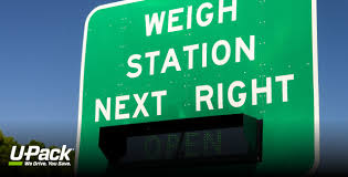 military weight tickets are required for military moves