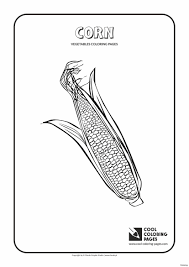 Indian Corn Coloring Page With Sheet Free Printable Candy Within