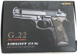 <b>Страйкбольный пистолет Galaxy G.22</b> (Beretta 92 mini): купить в ...