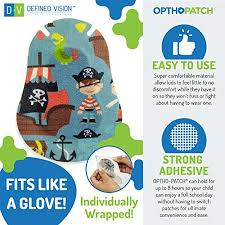 Optho Patch Kids Eye Patches Fun Boys Design 30 10