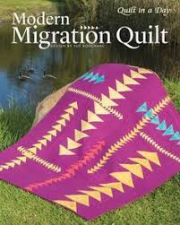 From the Geese Migrations book, this quilt, called  Ripples  was ... & Modern Migration Quilt by Sue Bouchard Adamdwight.com