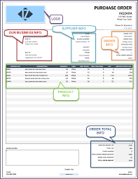 purchase order excel templates retail inventory management software accounting invoice reporting