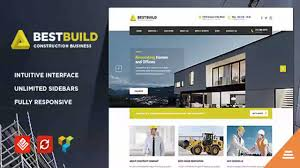 Construction Website Templates BestBuild Construction Building WP Theme Website Templates And 10