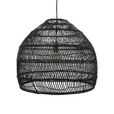 Large Wicker Pendant Light Woven Wicker Ceiling Pendant Light Natural