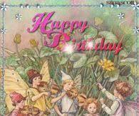 Poinsettia Happy Birthday Quote Gif | Birthday Images | Happy ...