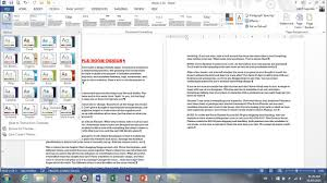 Word 2013 Themes Ms Word 2013 Styles Themes Style Sets