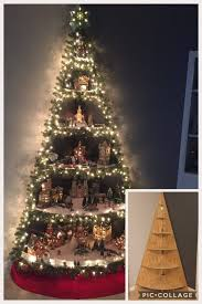 Christmas Tree Village Display Stands Cool 322 Of The Most Creative Christmas Trees Kitchen Fun With My 32 Sons
