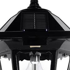 Windsor Bulb Solar Lamp Post Gs 99b S Gamasonic Solar Lighting