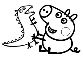 Peppa Pig Printable Coloring Pages - FunyColoring