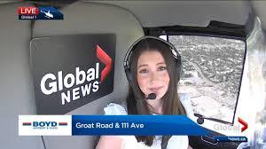 Global Edmonton - Global 1 traffic reporter Lauren Fink bids ...