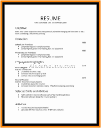 High School Student Resume Examples First Job Adorable Resume For Students High School Student Resume Examples First Job