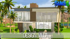 Small Picture The Sims 4 House Building Design Villa Speed Build YouTube