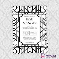 211 best wedding invitation templates (free) images on pinterest Free Downloads Evening Wedding Invitations free pdf download gatsby wedding invitation for a gatsby inspired wedding easy to edit Free Online Printable Wedding Invitation
