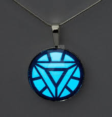 Glowing Iron Man Arc Reactor Pendant By Archandsoul On