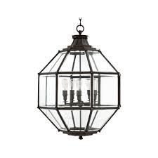eichholtz owen lantern traditional pendant lighting. Eichholtz Owen Lantern - Gun Metal Large Traditional Pendant Lighting Houseology