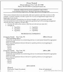 Resume On Microsoft Word