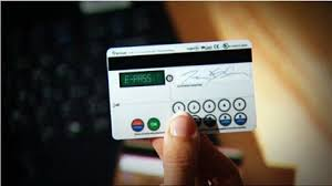 Security Random Card Generates Technology Visa Keypad Codes Features New