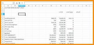 Home Renovation Budget Spreadsheet Template Sheet 6