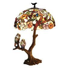 Amazoncom Chloe Lighting Ch19b441dt 3 Light Birds Harmony Table