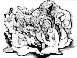 Small Picture Trippy Mushroom Coloring Pages Coloring Coloring Pages