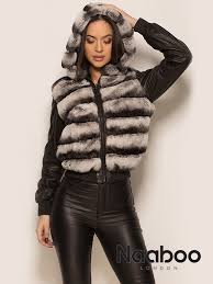 leather jacket rex fur 4 in 1 jacket reversible removable sleeves zip fastening professional clean only sizes small medium large