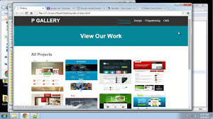 Gallery Design Html Learn How To Create A Responsive Image Gallery Using Jquery Part 2