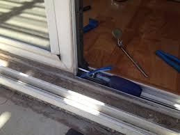 prepossessing sliding patio door repair for interior home design makeover large