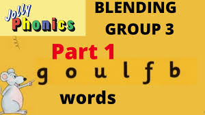 Each sheet provides activities for letter sound learning, letter formation, blending and segmenting. Scholars Collar Lending Group 3 Jolly Phonic Words Facebook