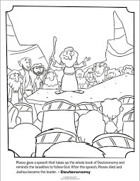 Small Picture Moses Giving a Speech Bible Coloring Pages Whats in the Bible