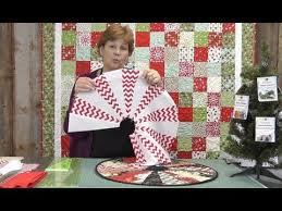 The Easiest Christmas Table Topper / Mini Tree Skirt You'll Ever ... & The Easiest Christmas Table Topper / Mini Tree Skirt You'll Ever Make! -  YouTube Adamdwight.com