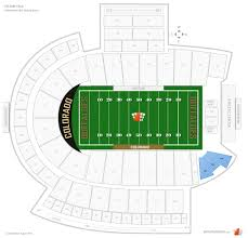 Cu Folsom Field Seating Chart Folsom Field Flatirons Club Football Seating