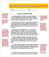 best ideas of example of literary essay in com best ideas of example of literary essay in template sample