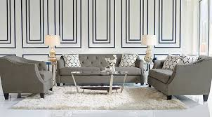 Sofia Vergara Monaco Court Navy 5 Pc Living Room Living Room