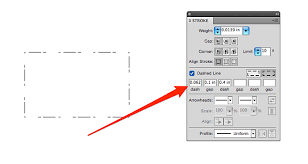 How to change pattern color in photoshop. Hacking Illustrator And Coreldraw To Make Dashed Lines For Folding Tearing Everything Else Glowforge Owners Forum