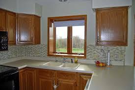 image of kitchen window blinds size
