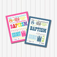 lds baptism gift subway art printable boy and 8x10 10 styles included on etsy 10 00