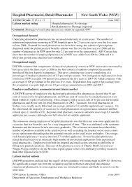 Hospital Pharmacist Resume Sample Elegant Resume Pharmacist Hospital