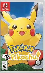 pokémon let s go pikachu box art